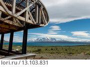 Купить «View of lake with mountains», фото № 13103831, снято 28 ноября 2013 г. (c) Ingram Publishing / Фотобанк Лори
