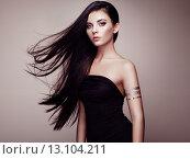 Купить «Fashion portrait of elegant woman with magnificent hair», фото № 13104211, снято 17 июля 2015 г. (c) Ingram Publishing / Фотобанк Лори