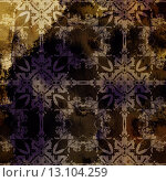 Купить «art abstract acrylic and pencil colorful background with damask pattern in yellow, grey, black and brown colors», фото № 13104259, снято 24 февраля 2019 г. (c) Ingram Publishing / Фотобанк Лори
