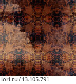 Купить «art abstract acrylic and pencil colorful background with damask pattern in beige, red-brown and dark blue colors», фото № 13105791, снято 22 ноября 2019 г. (c) Ingram Publishing / Фотобанк Лори
