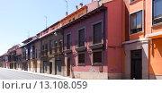Купить «Dwelling houses on old part of Leon», фото № 13108059, снято 22 июля 2019 г. (c) Яков Филимонов / Фотобанк Лори