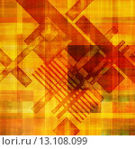 Купить «art abstract geometric textured colorful background in vanguard style in yellow, orange and red colors», фото № 13108099, снято 17 декабря 2018 г. (c) Ingram Publishing / Фотобанк Лори