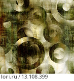 Купить «art abstract geometric textured colorful background with circles in green, grey, white and black colors», фото № 13108399, снято 17 декабря 2018 г. (c) Ingram Publishing / Фотобанк Лори
