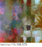 Купить «art abstract chaotic watercolor background in lilac, pink, green, white and brown colors», фото № 13108575, снято 22 августа 2019 г. (c) Ingram Publishing / Фотобанк Лори