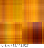 Купить «art abstract colorful geometric pattern; tiled background in gold, orange and brown colors», фото № 13112927, снято 20 марта 2019 г. (c) Ingram Publishing / Фотобанк Лори