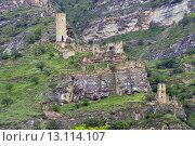 Старый аул Кахиб. Стоковое фото, фотограф Магомедарип Ибрагимов / Фотобанк Лори