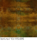 Купить «art abstract acrylic and pencil colorful background with damask pattern in brown and green colors», фото № 13115695, снято 21 ноября 2019 г. (c) Ingram Publishing / Фотобанк Лори