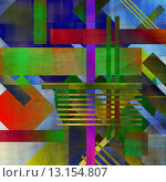 Купить «art abstract geometric textured colorful background in vanguard style in red, green and blue colors», фото № 13154807, снято 22 марта 2019 г. (c) Ingram Publishing / Фотобанк Лори