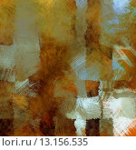 art abstract colorful acrylic background in gold, green, white and brown colors. Стоковое фото, агентство Ingram Publishing / Фотобанк Лори