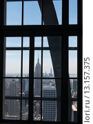 View of the Empire State Building (2014 год). Редакционное фото, фотограф Keith Levit / Ingram Publishing / Фотобанк Лори