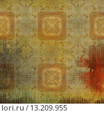 Купить «art abstract acrylic and pencil light colorful background with damask pattern in beige, red and brown colors», фото № 13209955, снято 21 ноября 2019 г. (c) Ingram Publishing / Фотобанк Лори