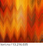 Купить «art abstract colorful zigzag geometric pattern background in red, orange, brown and gold colors», фото № 13216035, снято 17 августа 2018 г. (c) Ingram Publishing / Фотобанк Лори