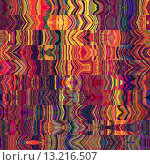 Купить «art abstract rainbow graphic background; geometric border stylized pattern with pink, purple, violet, blue and gold colors», фото № 13216507, снято 22 марта 2019 г. (c) Ingram Publishing / Фотобанк Лори