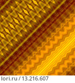 Купить «art abstract geometric diagonal pattern background in gold and brown colors», фото № 13216607, снято 22 марта 2019 г. (c) Ingram Publishing / Фотобанк Лори