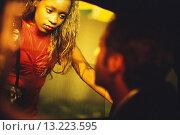 Купить «Prostitute Talking to Customer in Car», фото № 13223595, снято 17 июля 2019 г. (c) age Fotostock / Фотобанк Лори