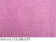 Фон розовой мешковины. Стоковое фото, фотограф Вячеслав Плясенко / Фотобанк Лори