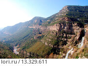 Купить «Waterfalls of Sant Miquel del Fai, Catalonia, Spain», фото № 13329611, снято 14 марта 2010 г. (c) age Fotostock / Фотобанк Лори