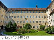 Купить «Switzerland, St  Gallen, Monastery of St  Gallen», фото № 13340599, снято 21 октября 2018 г. (c) age Fotostock / Фотобанк Лори