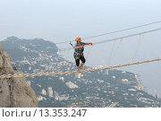 Купить «Гора Ай-Петри. Крым», фото № 13353247, снято 28 июля 2015 г. (c) Владимир Карпов / Фотобанк Лори