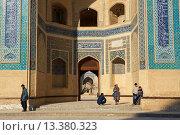 Купить «Uzbekistan, Bukhara, Unesco world heritage, Kalon mosque», фото № 13380323, снято 23 февраля 2019 г. (c) age Fotostock / Фотобанк Лори