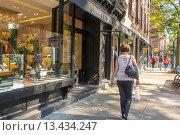 Купить «New York, Street Scenes, Shopping in Greenwich Village», фото № 13434247, снято 20 ноября 2018 г. (c) age Fotostock / Фотобанк Лори
