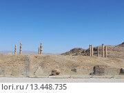 Купить «Древний город Персеполис около города Шираз. Архитектурная достопримечательность Персии. Иран. Ближний Восток. Азия.», фото № 13448735, снято 13 августа 2015 г. (c) Денис Козлов / Фотобанк Лори