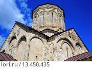 Купить «Nikortsminda Cathedral 11th century, Nikortsminda, Racha, Georgia», фото № 13450435, снято 22 ноября 2019 г. (c) age Fotostock / Фотобанк Лори