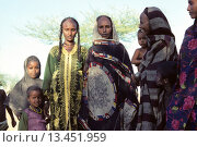 Купить «Nomadic women in a camp around N´djamena, Chad, Central Africa», фото № 13451959, снято 6 июня 2020 г. (c) age Fotostock / Фотобанк Лори