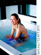 Купить «Woman in spa.», фото № 13477011, снято 19 апреля 2019 г. (c) age Fotostock / Фотобанк Лори