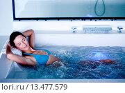 Купить «Woman in spa.», фото № 13477579, снято 19 апреля 2019 г. (c) age Fotostock / Фотобанк Лори