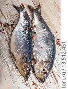 Купить «Two Herrings», фото № 13512451, снято 29 января 2012 г. (c) Tatjana Baibakova / Фотобанк Лори