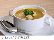 Суп с фрикадельками. Стоковое фото, фотограф Эдуард Пиолий / Фотобанк Лори