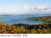 Купить «View over the south coast of Grande Terre, New Caledonia, Melanesia, South Pacific, Pacific», фото № 13541343, снято 22 октября 2019 г. (c) age Fotostock / Фотобанк Лори