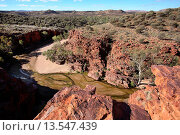 Купить «Trephina Gorge, East McDonnel Ranges, Central Australia», фото № 13547439, снято 23 октября 2018 г. (c) age Fotostock / Фотобанк Лори