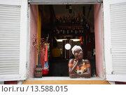 Купить «Portella cafe, Santa Teresa, Rio de Janeiro, Brazil, South America», фото № 13588015, снято 18 марта 2018 г. (c) age Fotostock / Фотобанк Лори