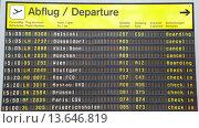 Купить «Strike at Lufthansa _ UFO, Berlin Tegel Airport, Friday, 09/07/2012», фото № 13646819, снято 29 мая 2020 г. (c) age Fotostock / Фотобанк Лори