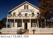 McCoy House Museum, Old Town State Park, San Diego, California, United States of America, USA. Стоковое фото, фотограф Peter Schickert / age Fotostock / Фотобанк Лори