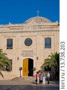Heraklion, Iraklio, Crete, Greece. Church of Ayios Titos. Стоковое фото, фотограф Phil Robinson / age Fotostock / Фотобанк Лори