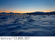 Купить «Ice, Europe, scenery, landscape, light, mood, Norway, Scandinavia, sundown, beach, seashore, Tromsö, shore, water, winter, evening mood, cold», фото № 13805307, снято 13 июля 2020 г. (c) age Fotostock / Фотобанк Лори