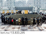 Купить «Job seekers attend the CUNY Big Apple Job and Internship Fair at the Jacob Javits Convention Center in New York. The US Labor Department reports new claims...», фото № 13833295, снято 22 ноября 2019 г. (c) age Fotostock / Фотобанк Лори