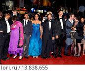 Купить «Nawazuddin Siddiqui, Tannishtha Chatterjee, Amit Kumar, Vijay Verma - Cannes/France/France - 66TH CANNES FILM FESTIVAL - RED CARPET MONSOON SHOOTOUT», фото № 13838655, снято 18 мая 2013 г. (c) age Fotostock / Фотобанк Лори
