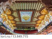 Купить «Palau de la Musica Catalana, by Lluis Domenech i Montaner, Barcelona, Spain.», фото № 13849715, снято 23 апреля 2019 г. (c) age Fotostock / Фотобанк Лори