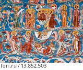 Купить «europe, romania, bucovina, moldovita monastery, frescos.», фото № 13852503, снято 19 августа 2006 г. (c) age Fotostock / Фотобанк Лори
