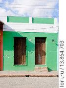 Купить «Colonial House Camaguey, Cuba, Caribbean», фото № 13864703, снято 18 ноября 2017 г. (c) age Fotostock / Фотобанк Лори