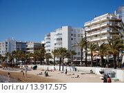 Купить «salou waterfront properties on the costa dorada catalonia spain.», фото № 13917575, снято 23 марта 2019 г. (c) age Fotostock / Фотобанк Лори