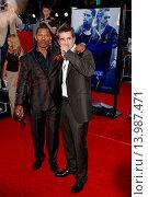 Jamie Foxx & Colin Farrell - Los Angeles/California/United States - MIAMI VICE FILM PREMIERE (2006 год). Редакционное фото, фотограф visual/pictureperfect / age Fotostock / Фотобанк Лори