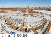 Ледовый дворец Крылатское (2015 год). Редакционное фото, фотограф Данила Михин / Фотобанк Лори