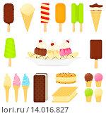 Купить «Мороженое», иллюстрация № 14016827 (c) Ирина Иглина / Фотобанк Лори