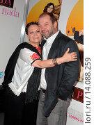 Adriana Barraza & husband Arnaldo Pipke - Los Angeles/California/United States - FROM PRADA TO NADA FILM PREMIERE (2011 год). Редакционное фото, фотограф visual/pictureperfect / age Fotostock / Фотобанк Лори