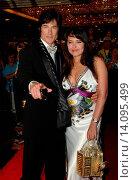 Ronn Moss & Devin DeVasquez - Las Vegas/Nevada/United States - 37TH ANNUAL DAYTIME EMMY AWARDS: ARRIVALS (2010 год). Редакционное фото, фотограф visual/pictureperfect / age Fotostock / Фотобанк Лори